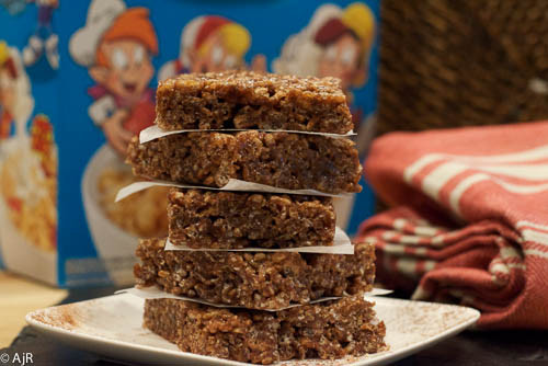 Chocolate Rice Krispie Treats