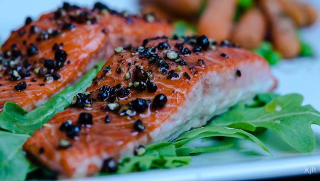 Peppery Balsamic Salmon