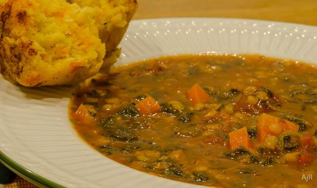 Spinach&Lentil Stew2
