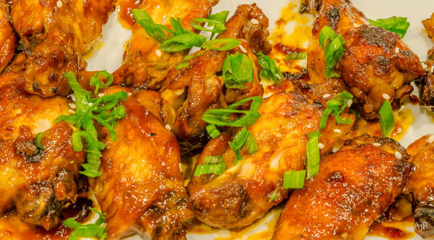 Asian Barbeque Chicken Wings