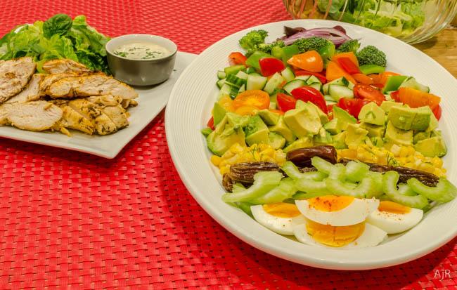 Salad # 15 – Chicken Chopped Salad