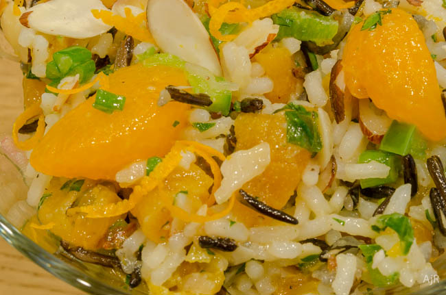 Salad #3 – Wild Rice and Orange Salad