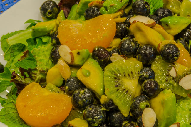Salad #34 – Blueberry Avocado Salad