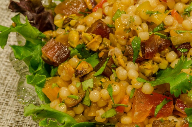 Salad #43 – Couscous and Dried Fruit Salad