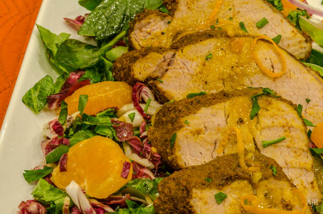 Salad #44 – Curried Pork and Orange Salad