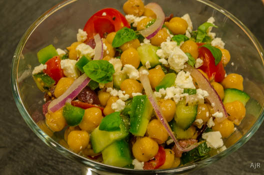 Salad #41 – Greek Garbanzo Salad