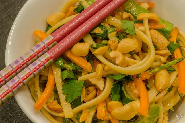 Salad #40 – Szechuan  Noodle Salad