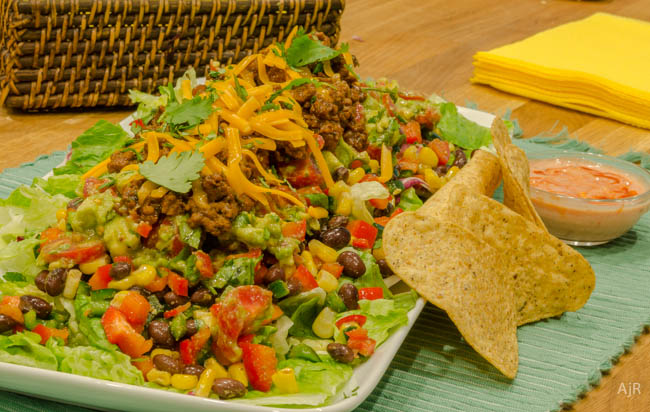 Salad #66 – Layered Taco Salad