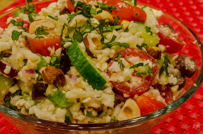 Salad #56 – Mediterranean Cauliflower Salad