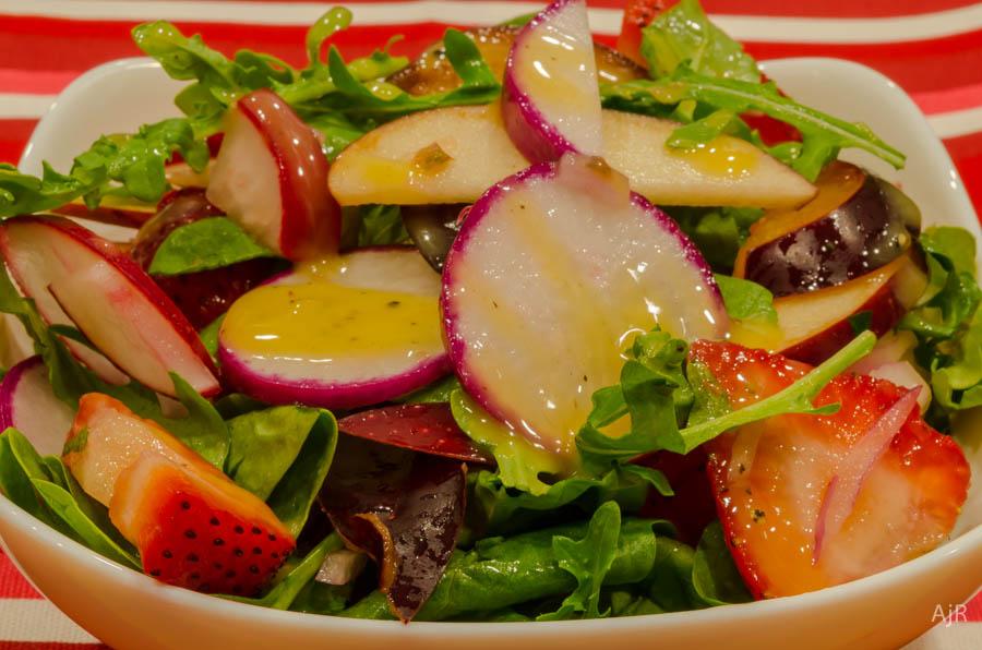 Salad # 60 – Red Radish Salad