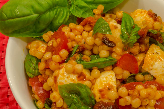 Salad #71 – Roasted Tomato and Couscous Salad