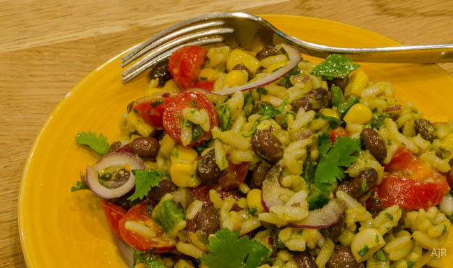 Salad #61 – Southwestern Rice and Bean Salad