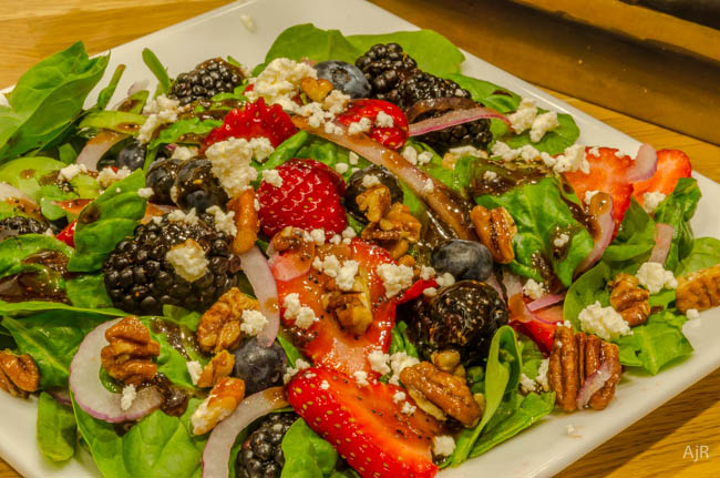 Spinach and Berry Salad#1