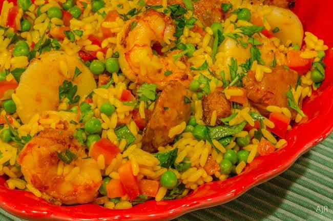 Salad # 85 – Paella Salad