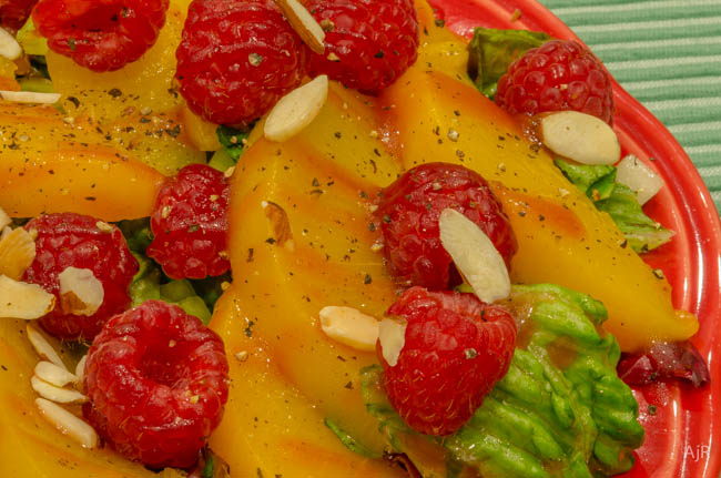 Salad #95 – Peach Melba Salad