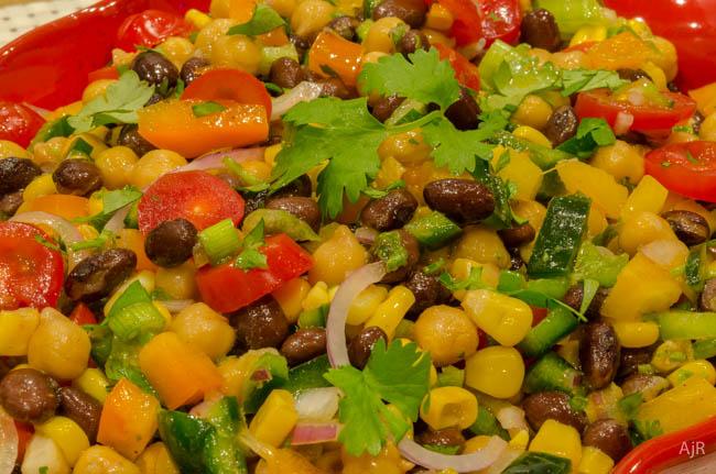 SW Bean & Corn Salad
