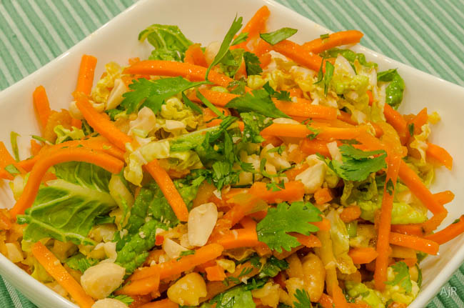 Salad # 87 – Spicy Carrot and Apple Slaw