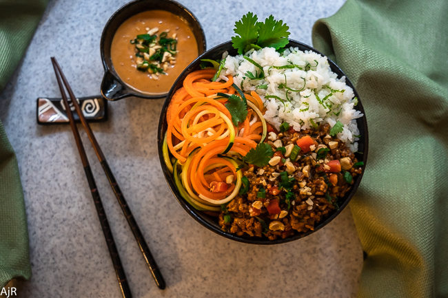 Spicy Thai Rice Bowl