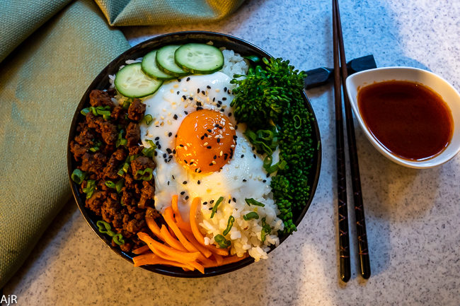 Korean Rice Bowl (Bibimbap)